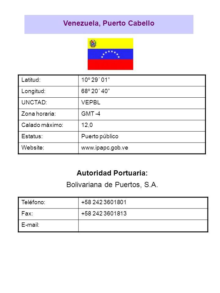 Venezuela, Puerto Cabello