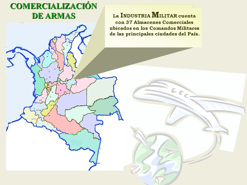 COMERCIALIZACIÓN DE ARMAS