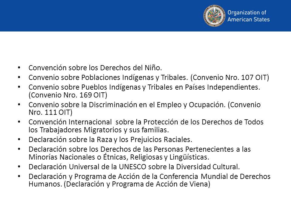 Convención sobre los Derechos del Niño.