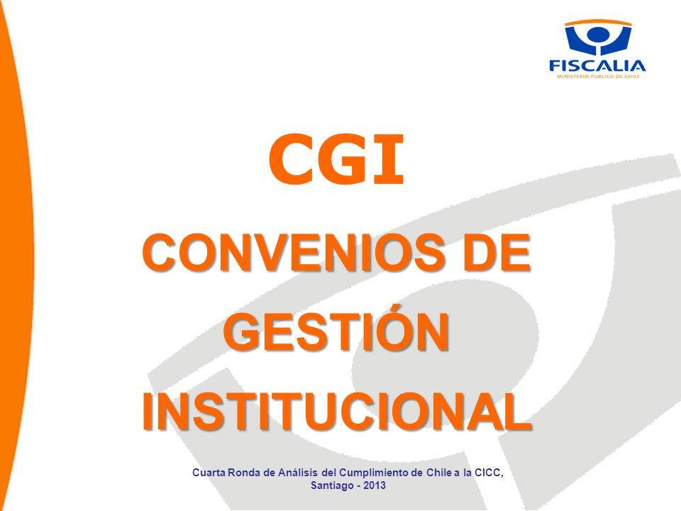 CGI CONVENIOS DE GESTIÓN INSTITUCIONAL