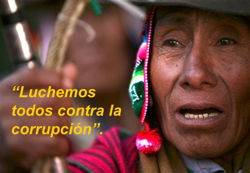 Pilar Institucional Luchemos todos contra la corrupción . 37