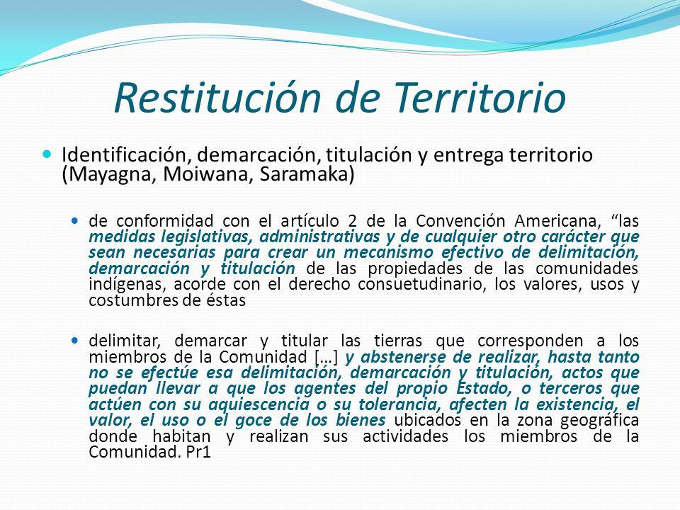 Restitución de Territorio