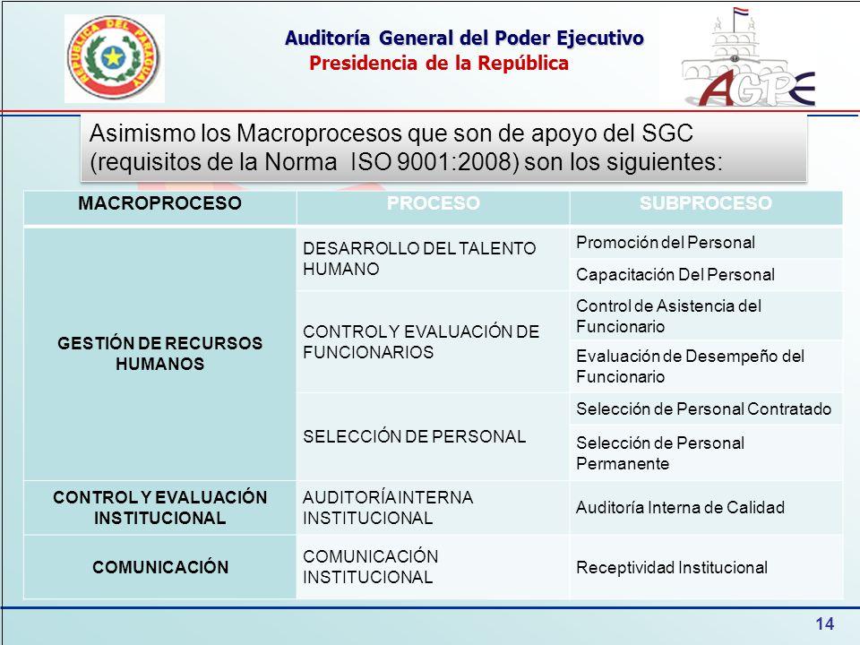 Auditoría General del Poder Ejecutivo