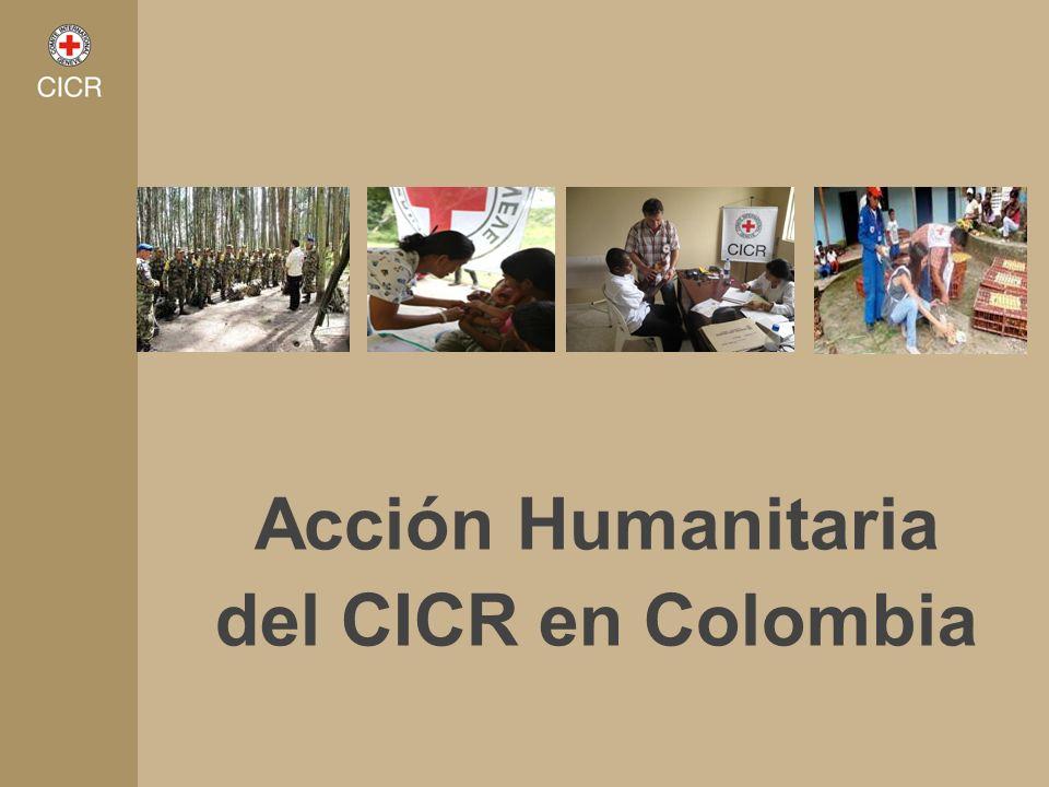 Acción Humanitaria del CICR en Colombia