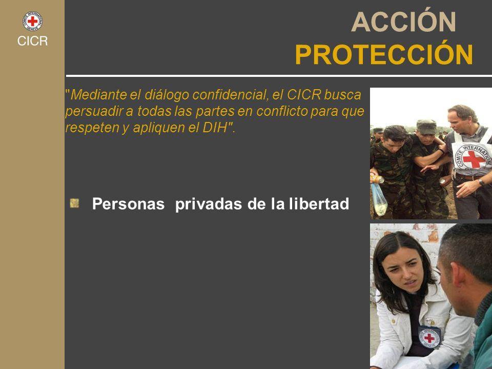 ACCIÓN PROTECCIÓN Personas privadas de la libertad
