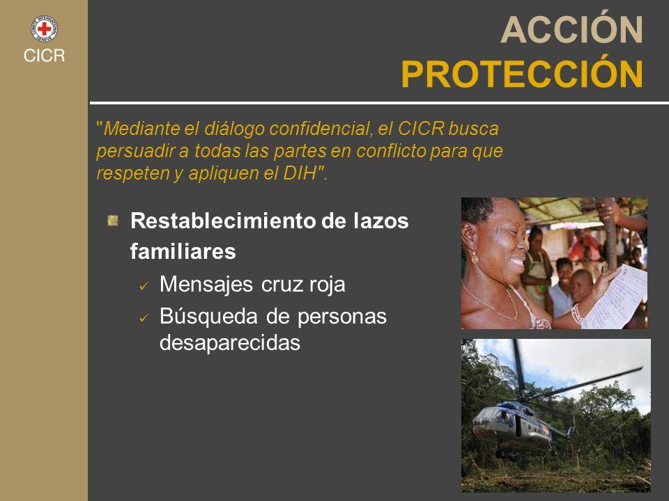 ACCIÓN PROTECCIÓN Restablecimiento de lazos familiares