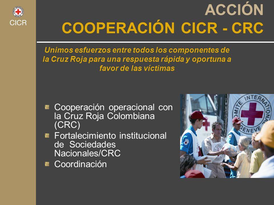 ACCIÓN COOPERACIÓN CICR - CRC
