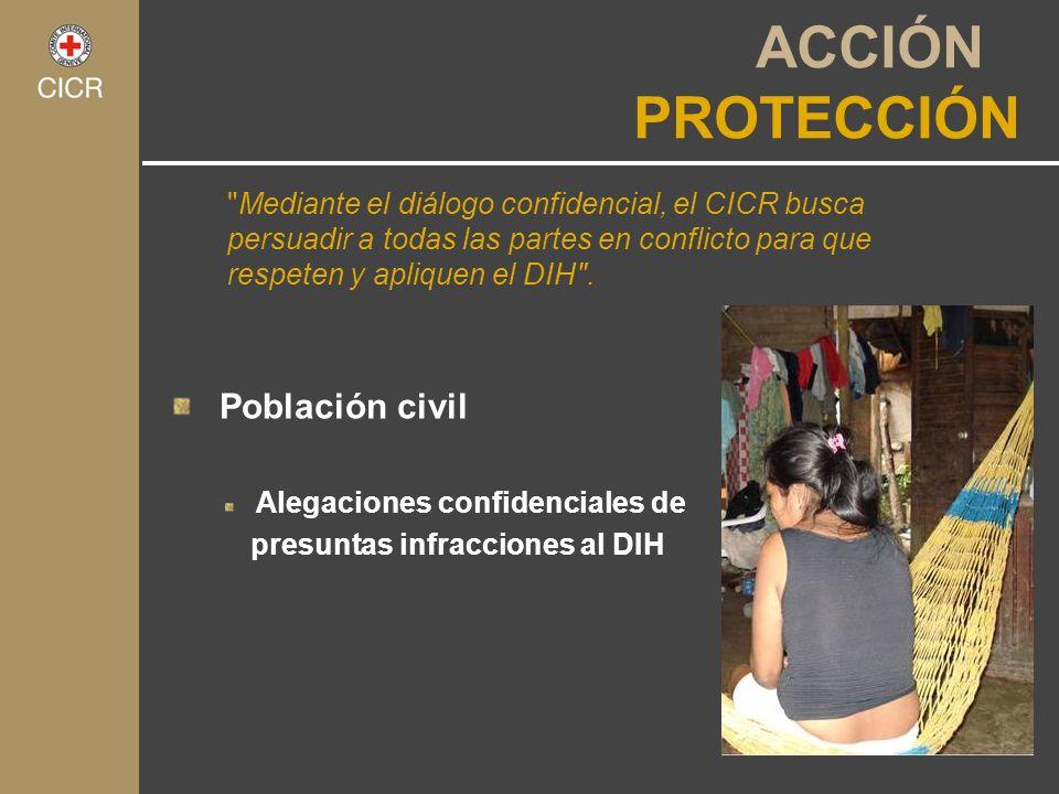 ACCIÓN PROTECCIÓN Población civil