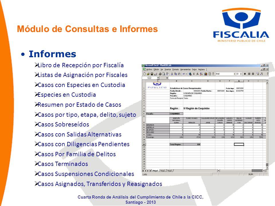 Módulo de Consultas e Informes