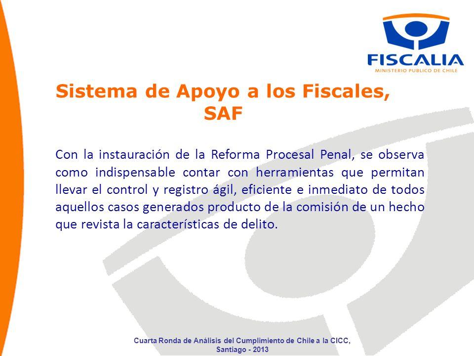 Sistema de Apoyo a los Fiscales, SAF