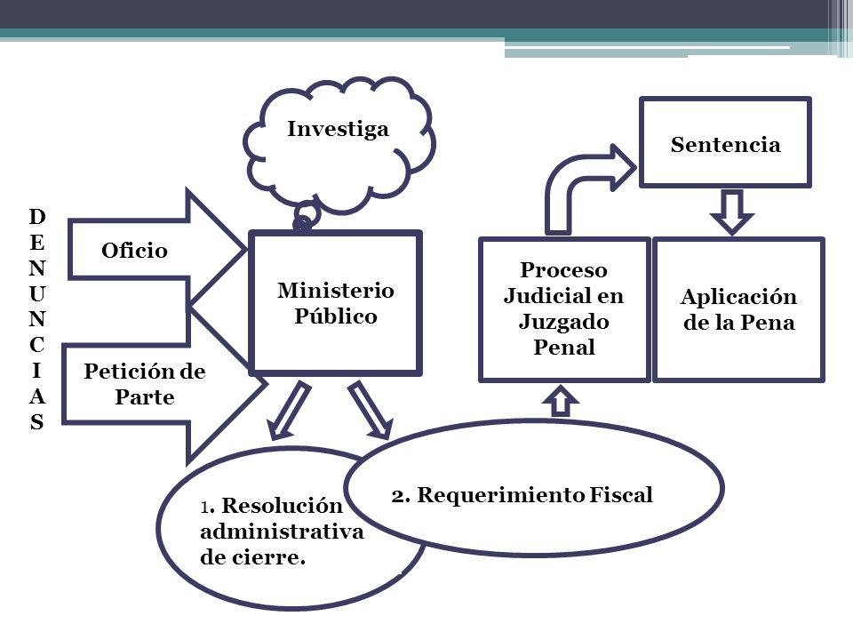 Proceso Judicial en Juzgado Penal