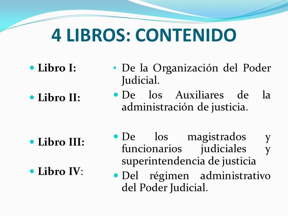 4 LIBROS: CONTENIDO Libro I: Libro II: Libro III: Libro IV: