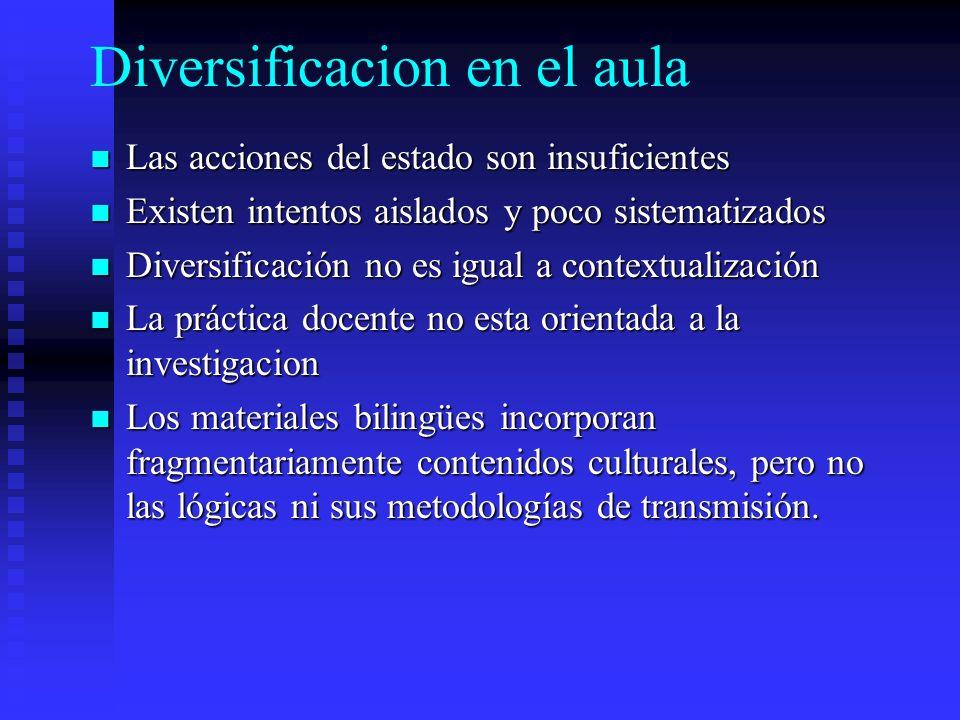 Diversificacion en el aula