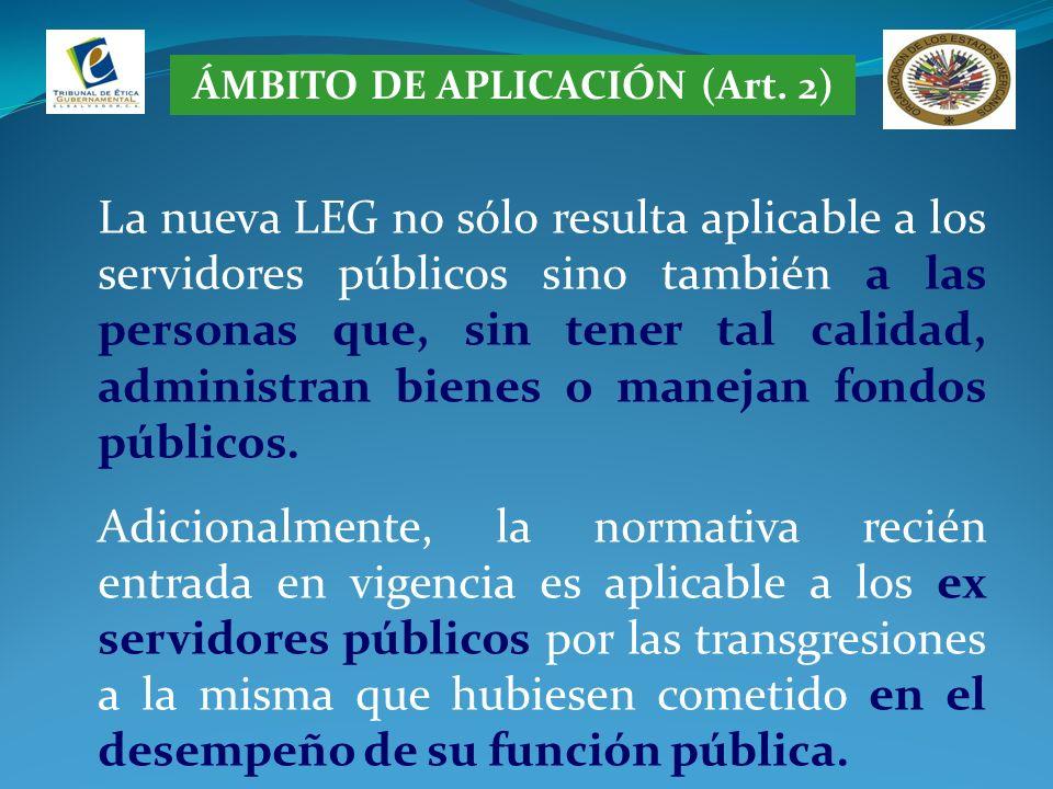 ÁMBITO DE APLICACIÓN (Art. 2)