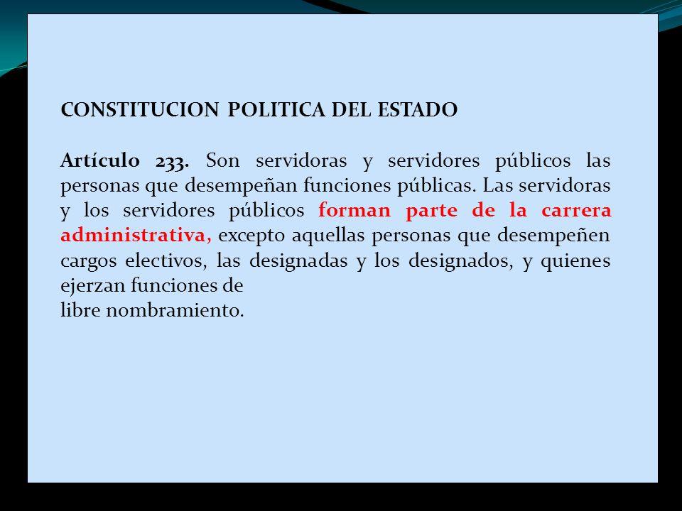 CONSTITUCION POLITICA DEL ESTADO