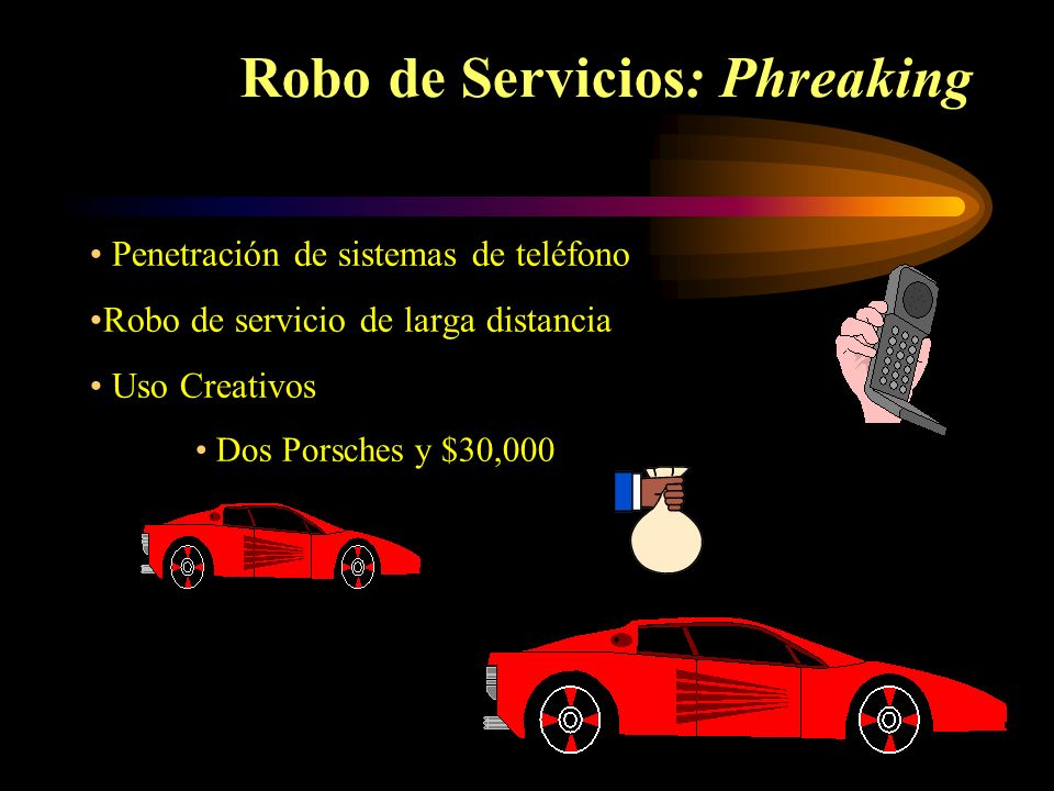 Robo de Servicios: Phreaking