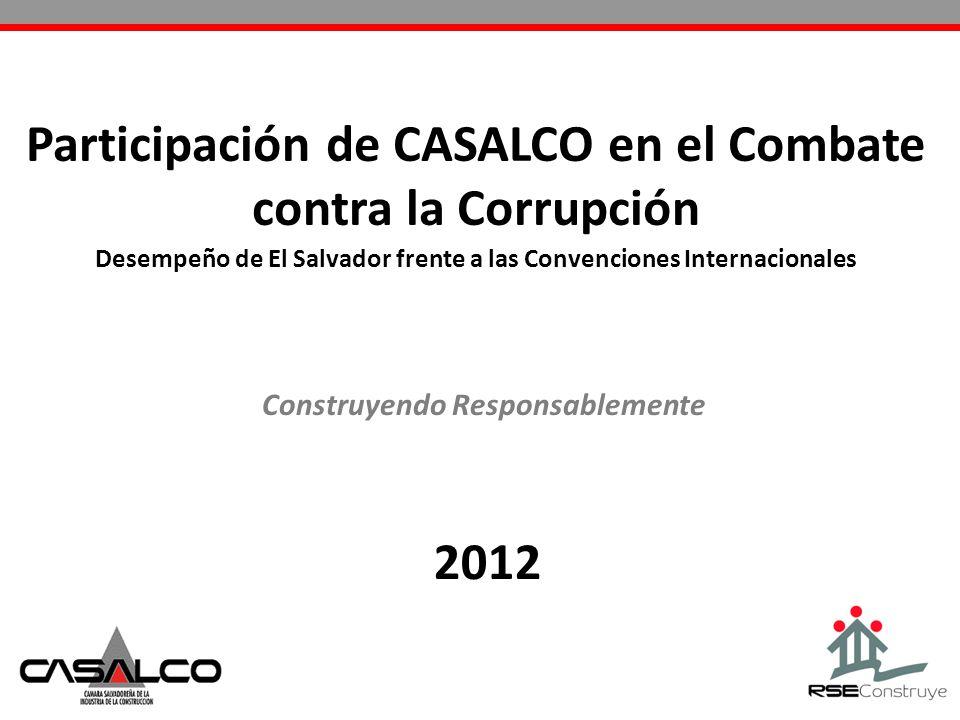 Desempeño de El Salvador frente a las Convenciones Internacionales