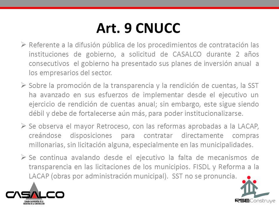 Art. 9 CNUCC