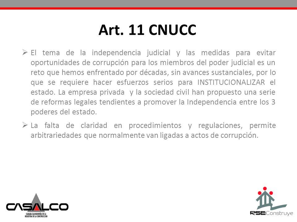 Art. 11 CNUCC
