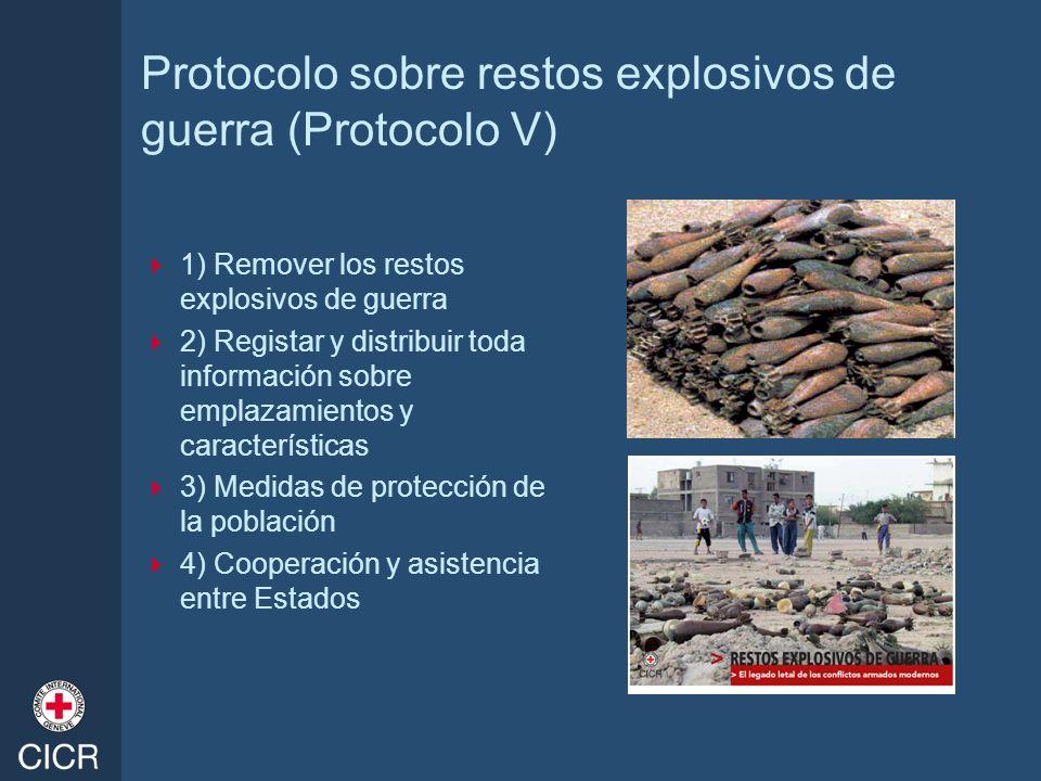 Protocolo sobre restos explosivos de guerra (Protocolo V)