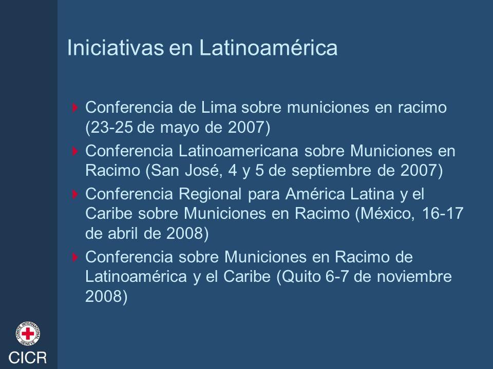 Iniciativas en Latinoamérica