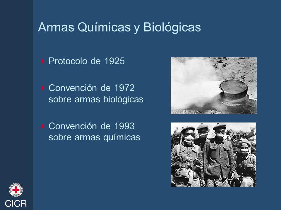 Armas Químicas y Biológicas