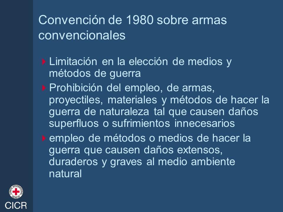 Convención de 1980 sobre armas convencionales