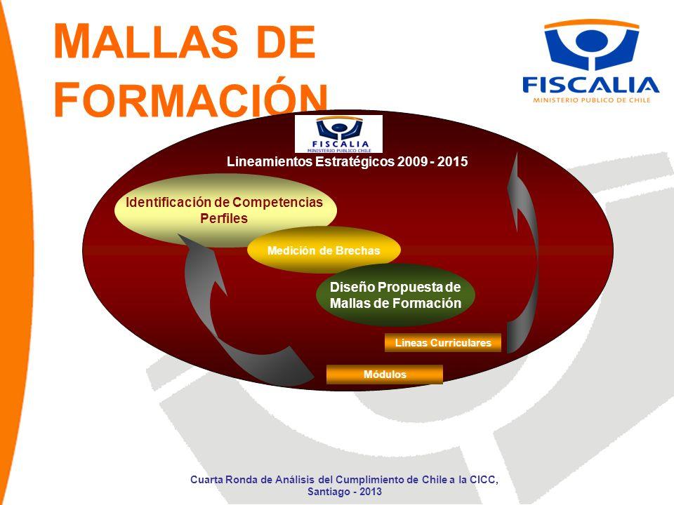 Lineamientos Estratégicos 2009 - 2015 Identificación de Competencias