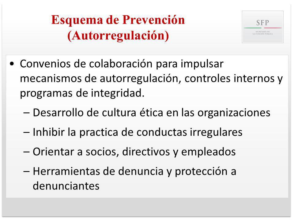 Esquema de Prevención (Autorregulación)
