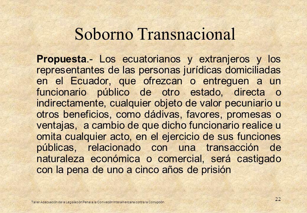 Soborno Transnacional