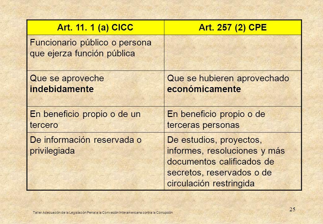 Funcionario público o persona que ejerza función pública