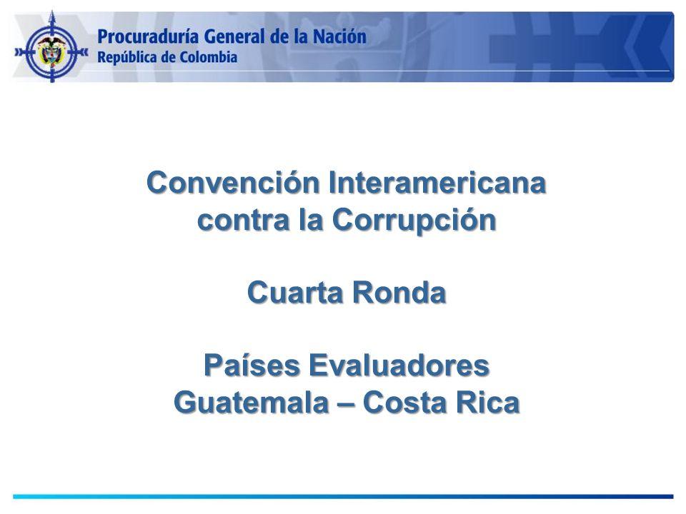 Convención Interamericana contra la Corrupción