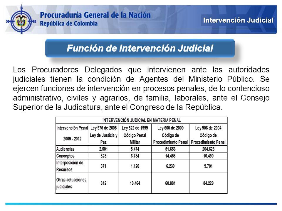 Función de Intervención Judicial