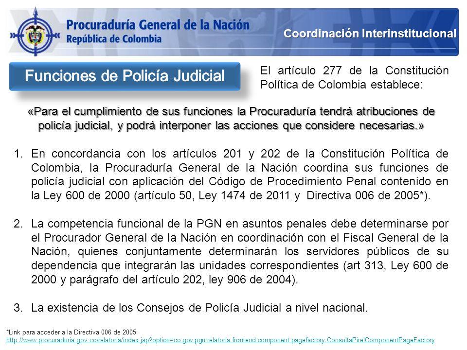 Funciones de Policía Judicial