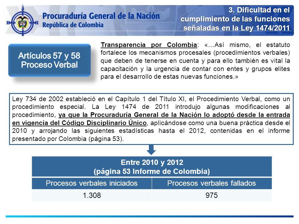 (página 53 Informe de Colombia)