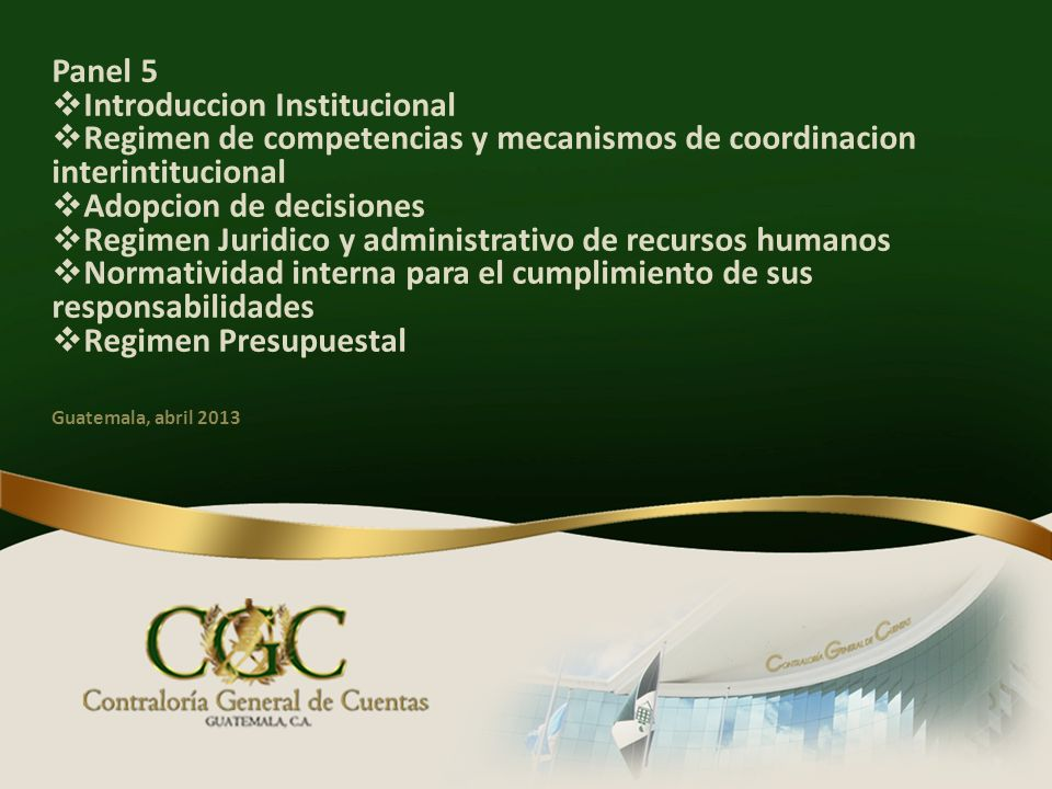 Introduccion Institucional