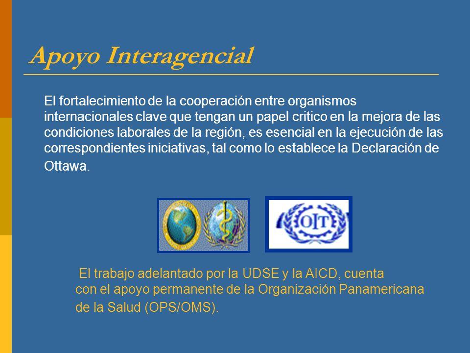 Apoyo Interagencial