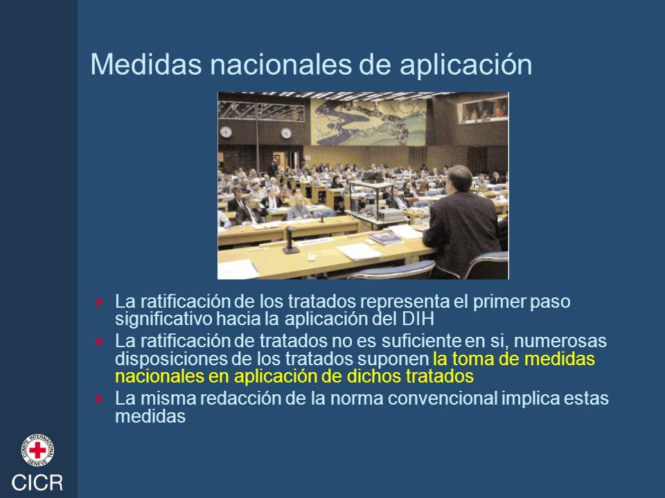 Medidas nacionales de aplicación