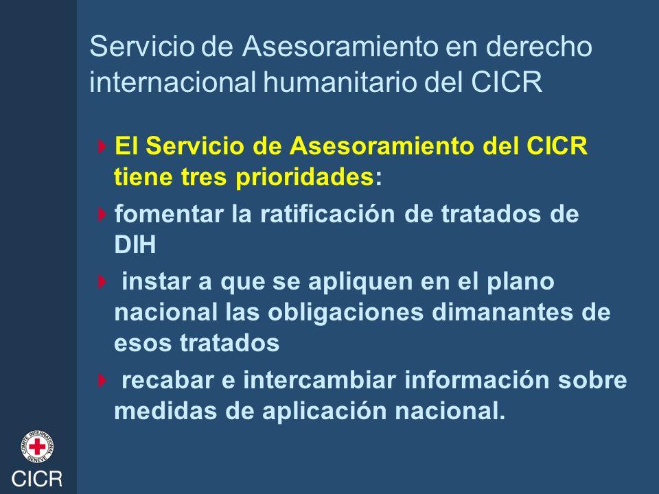 Servicio de Asesoramiento en derecho internacional humanitario del CICR