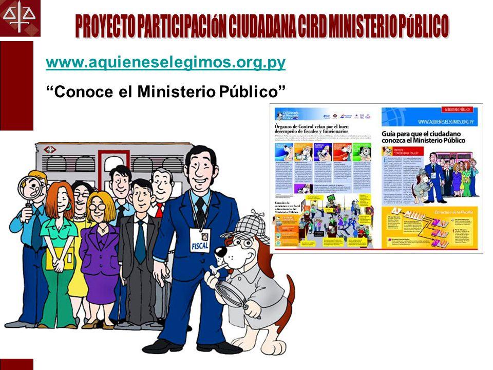 PROYECTO PARTICIPACIÓN CIUDADANA CIRD MINISTERIO PÚBLICO