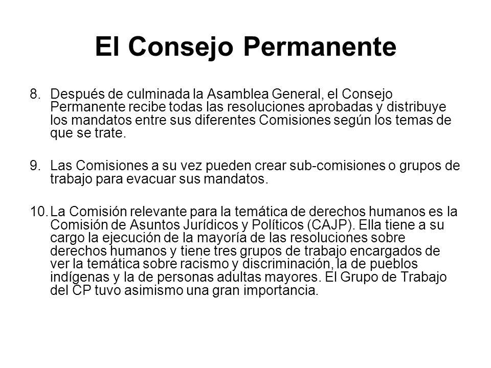 El Consejo Permanente