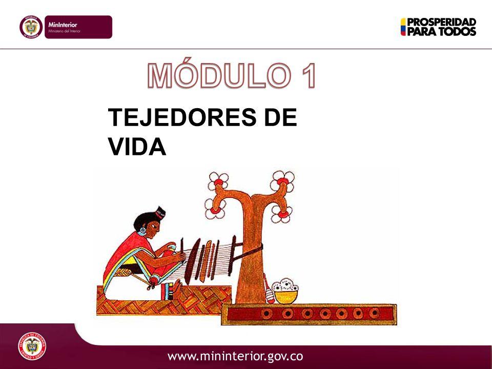 MÓDULO 1 TEJEDORES DE VIDA