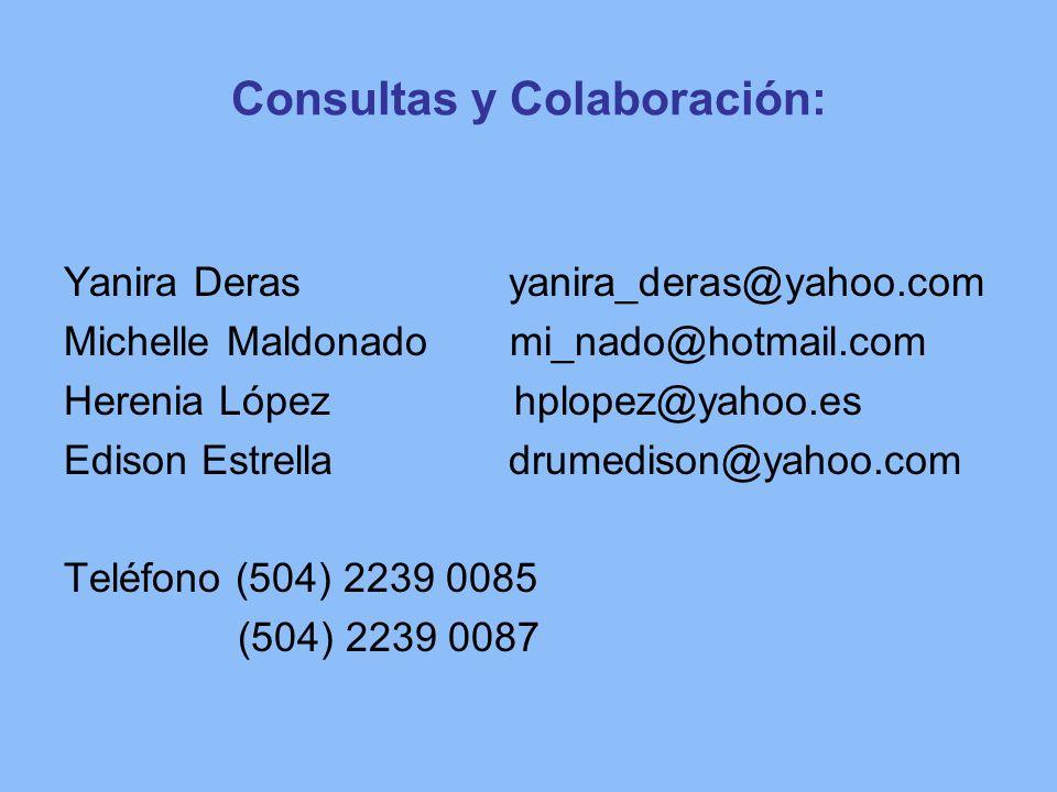 Consultas y Colaboración: