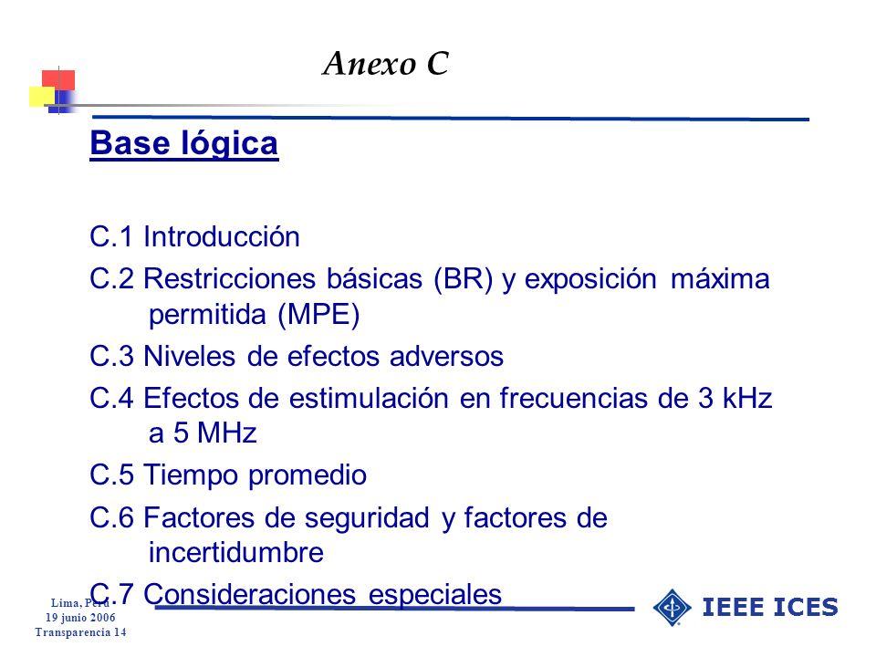 Anexo C Base lógica C.1 Introducción