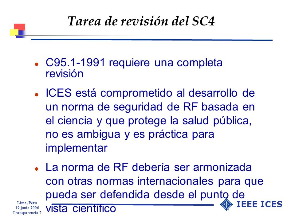 Tarea de revisión del SC4