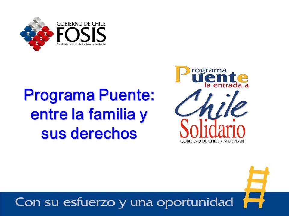 Programa Puente: entre la familia y sus derechos