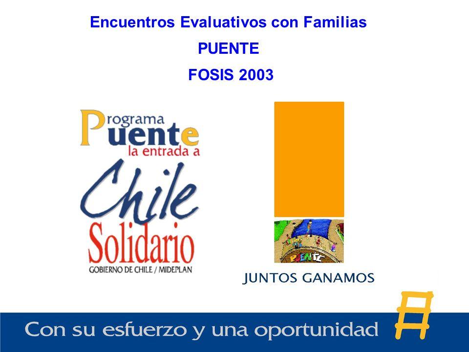 Encuentros Evaluativos con Familias