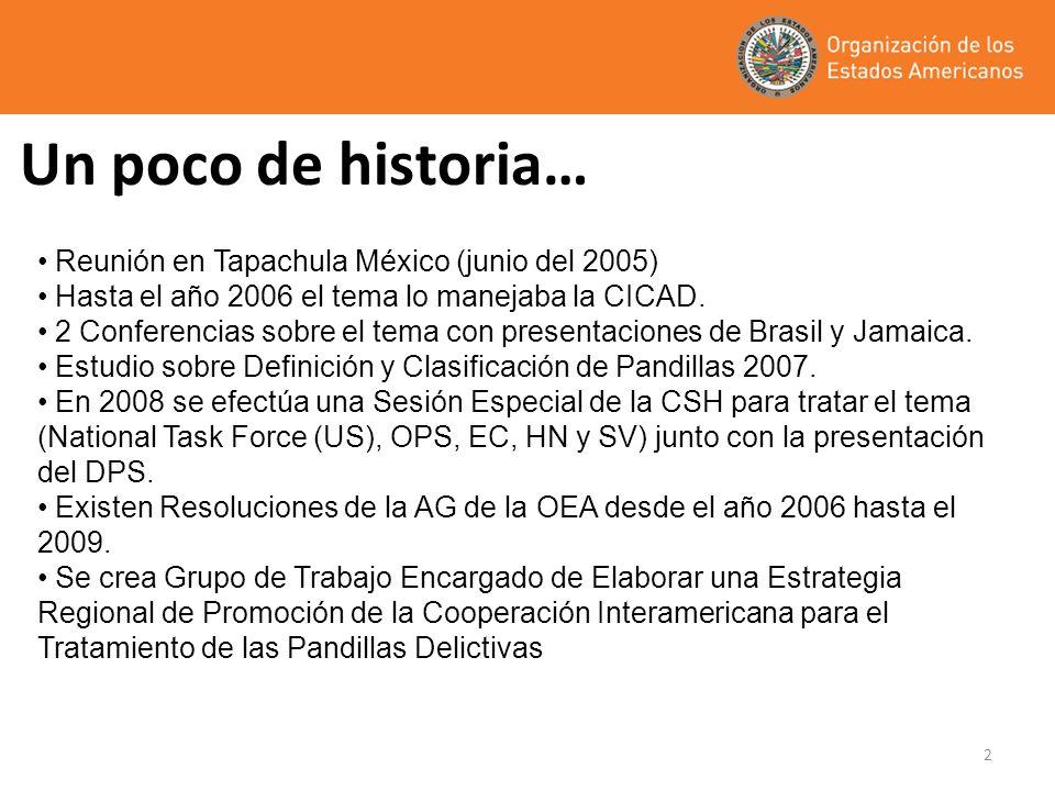 Un poco de historia… Reunión en Tapachula México (junio del 2005)