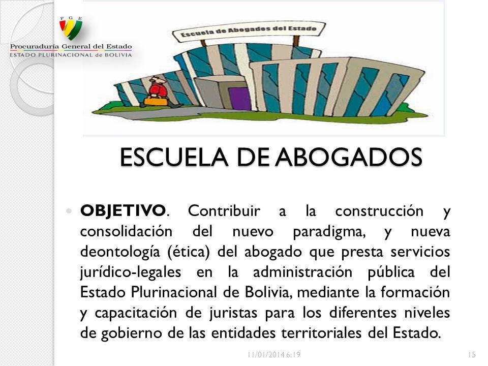 ESCUELA DE ABOGADOS