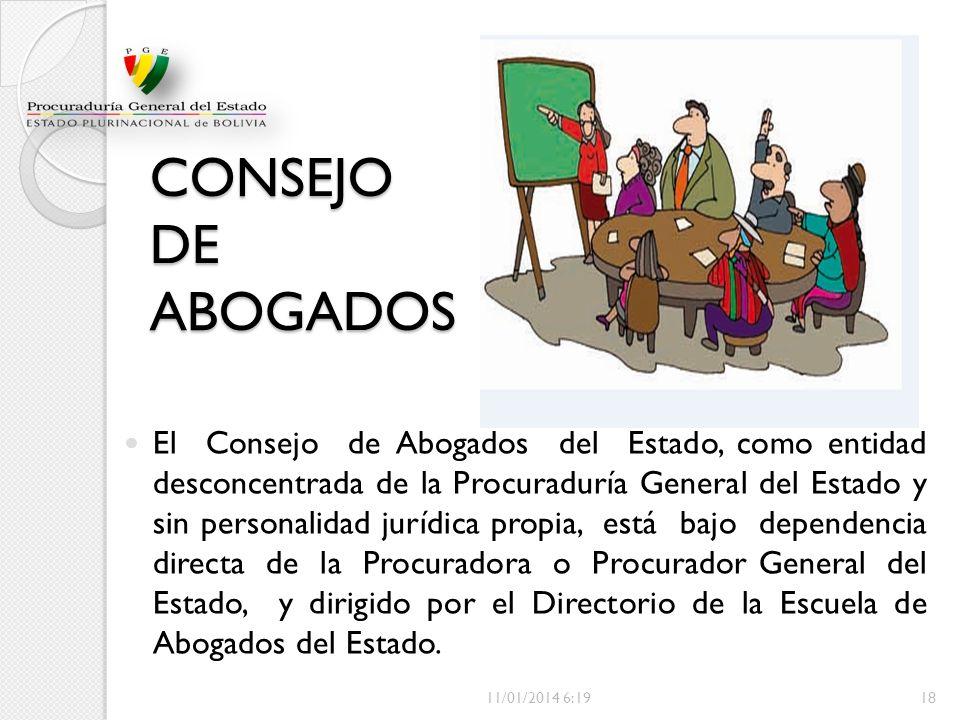 CONSEJO DE ABOGADOS